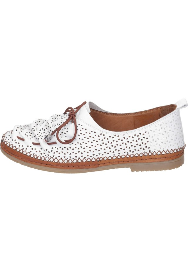Casual lace-ups - weiß
