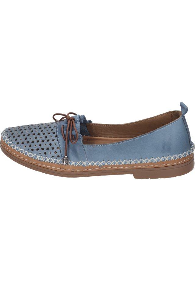 Moccasins - blue