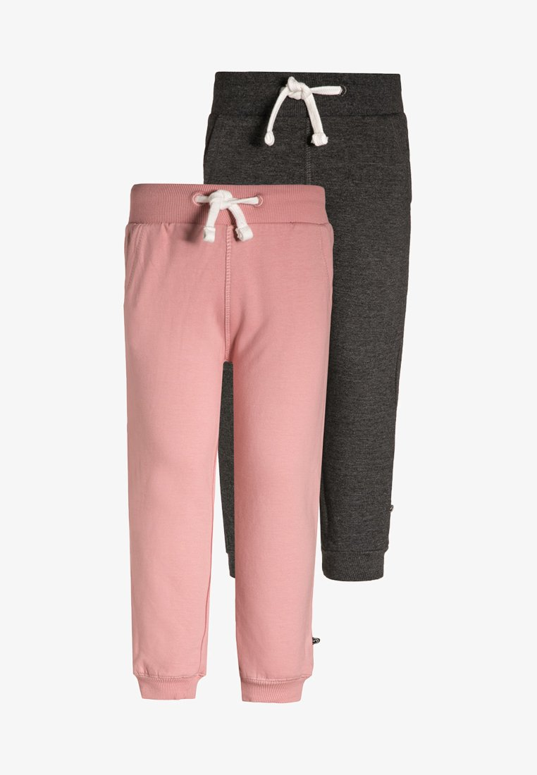 Minymo - 2 PACK - Tracksuit bottoms - blusher