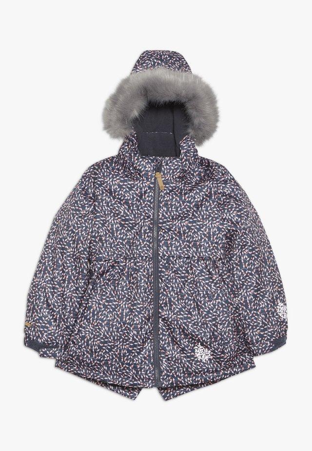 SNOW JACKET HERRINGBONE - Zimní kabát - zephyr