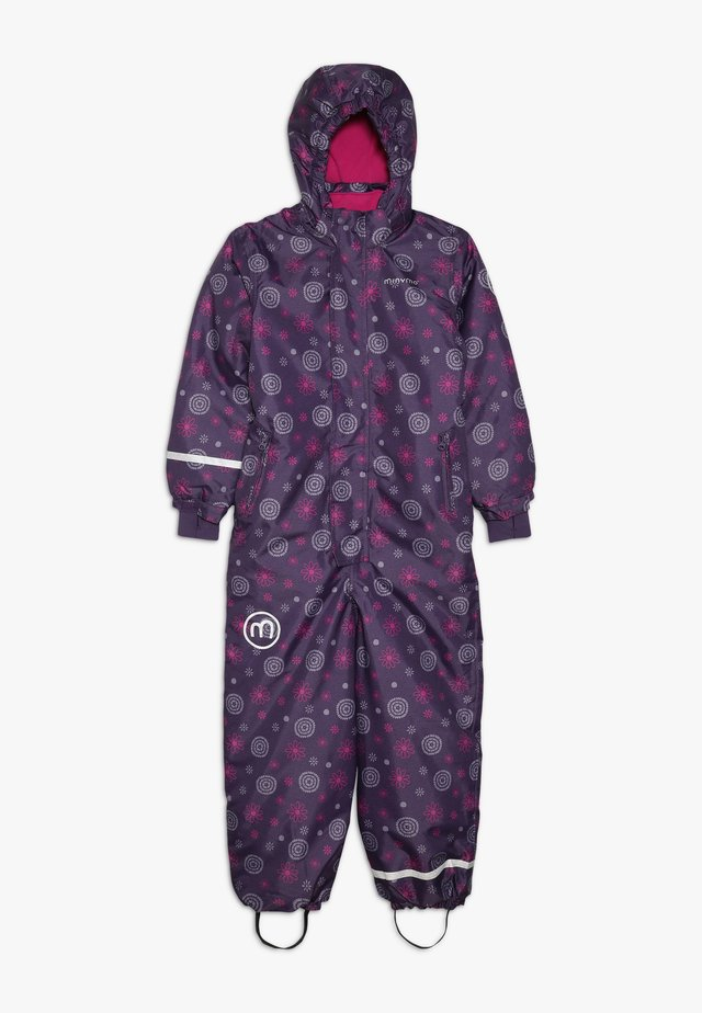 SNOWSUIT OXFORD - Combinaison de ski - loganberry