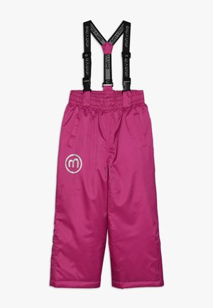 SNOW PANT OXFORD SOLID - Pantalon de ski - rose violet