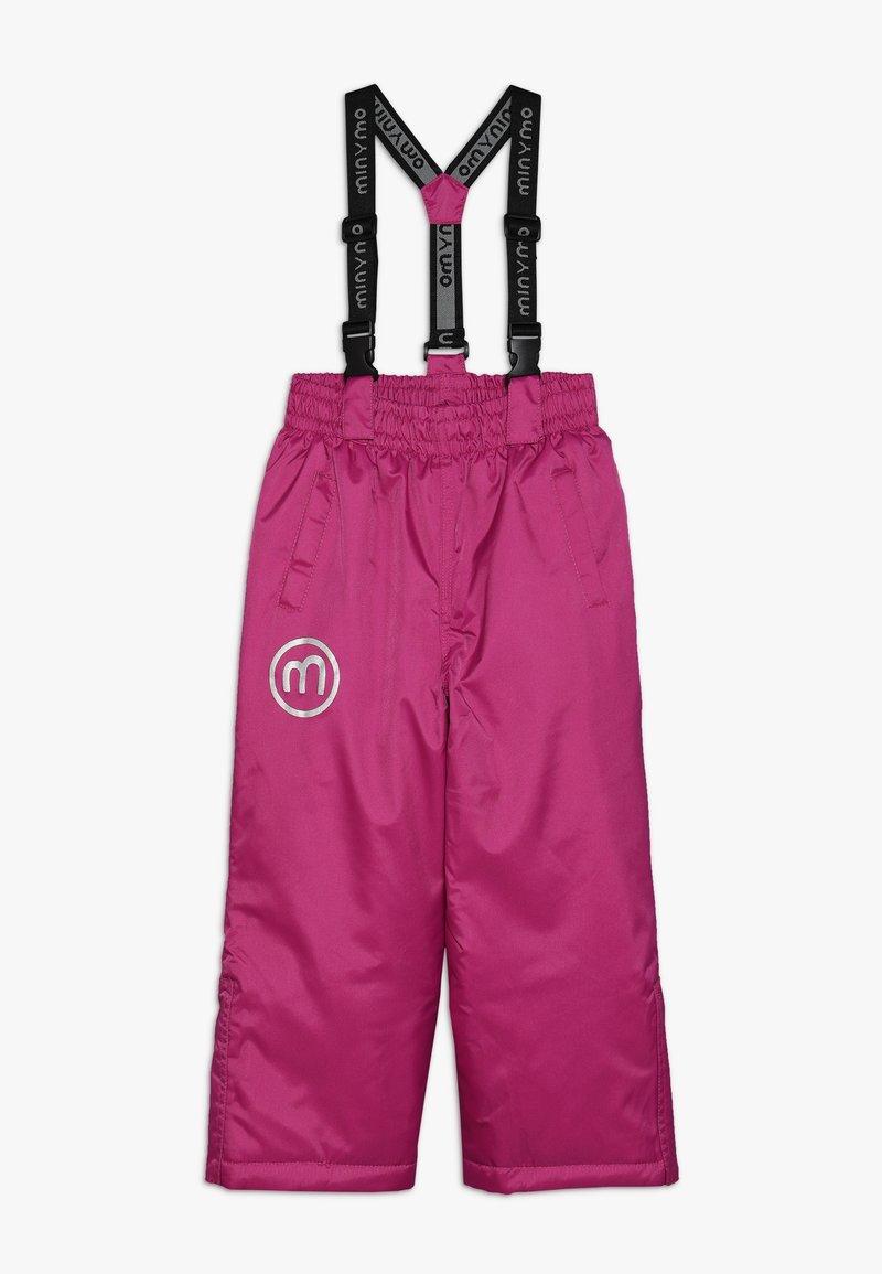 Minymo - SNOW PANT OXFORD SOLID - Pantalón de nieve - rose violet