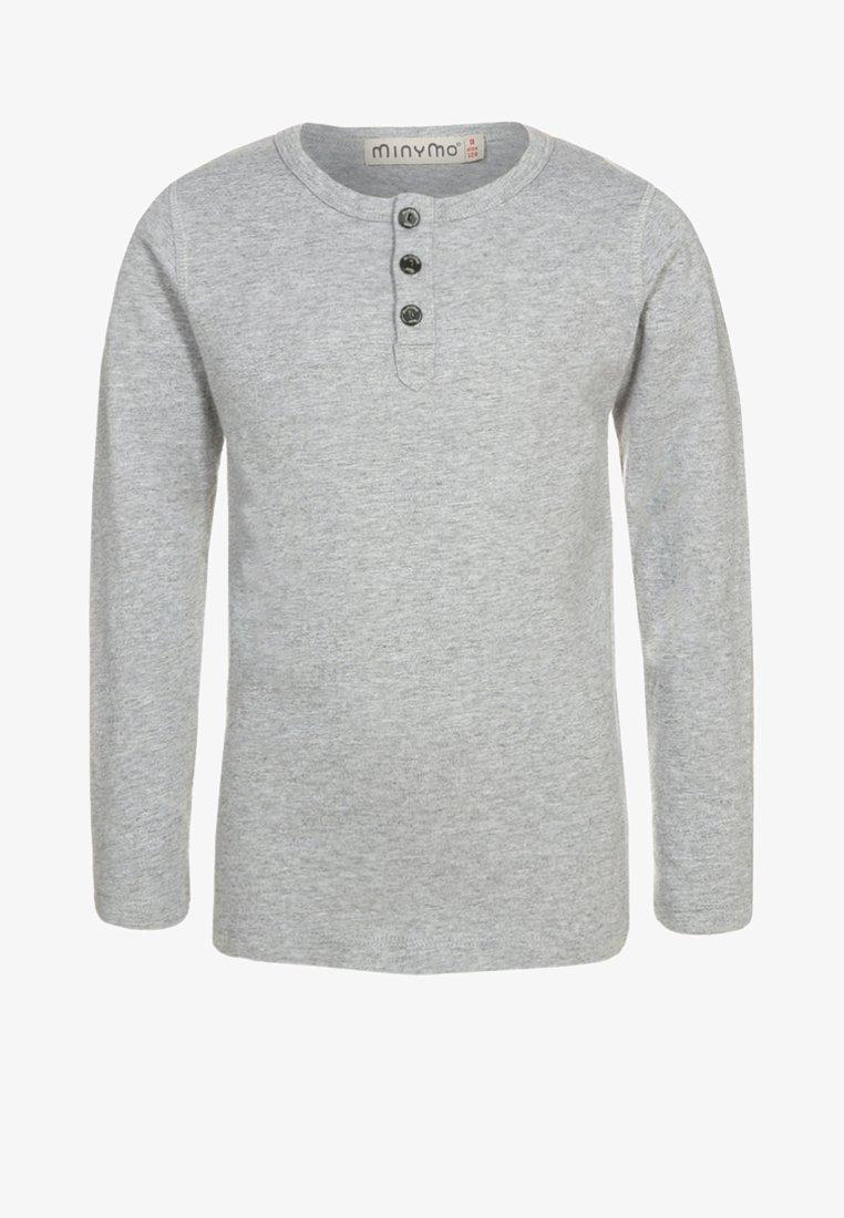 Minymo - Long sleeved top - light grey melange