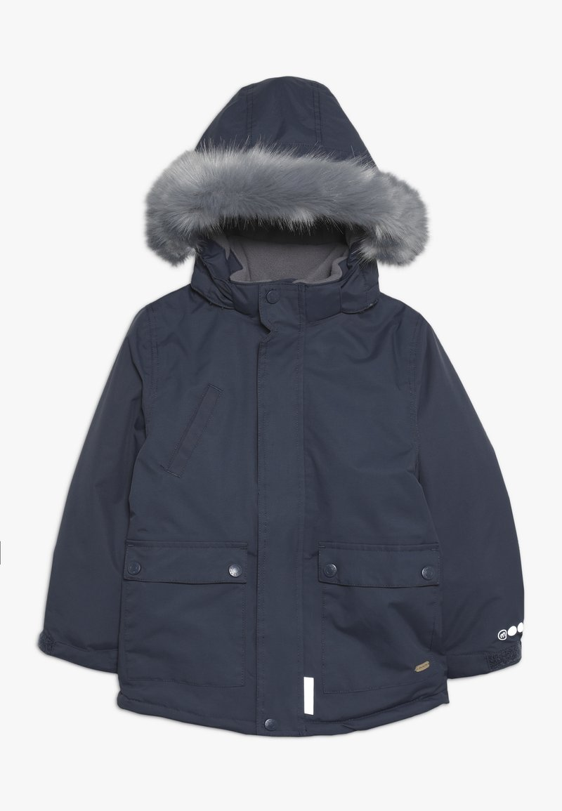 Minymo - SNOW JACKET SOLID - Wintermantel - ombre blue