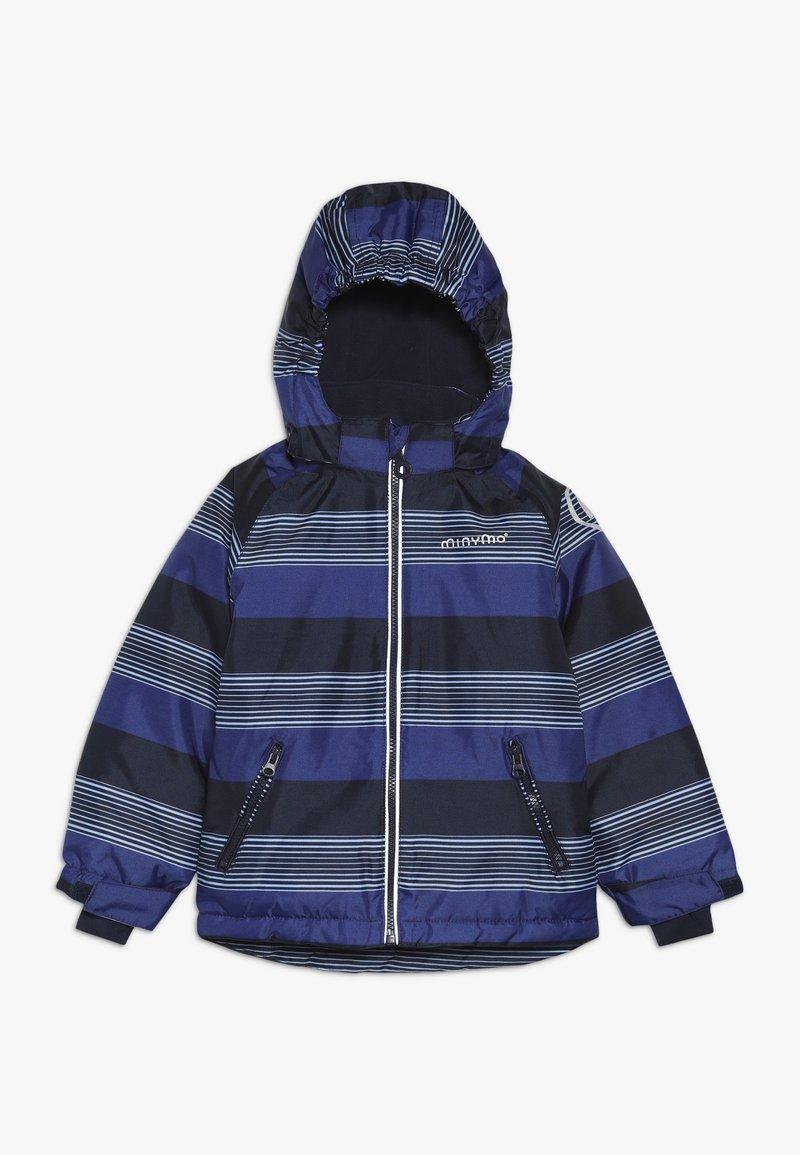 Minymo - SNOW JACKET OXFORD - Winterjacke - placid blue