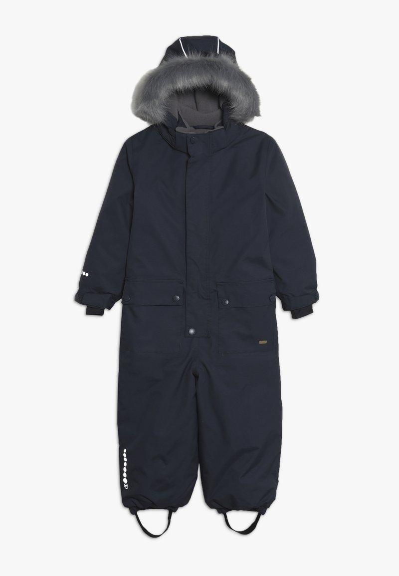 Minymo - SNOWSUIT TUSSOR SOLID - Schneeanzug - ombre blue