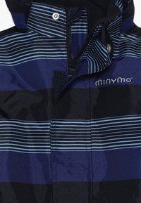Minymo - SNOWSUIT OXFORD - Talvihaalari - placid blue - 5