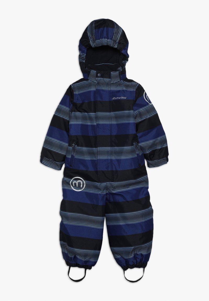 Minymo - SNOWSUIT OXFORD - Talvihaalari - placid blue