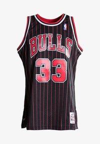 Mitchell & Ness - NBA SWINGMAN CHICAGO BULLS 33 - Teamwear - black/red - 4