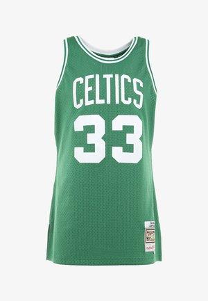 NBA BOSTON CELTICS LARRY BIRD SWINGMAN - Topper - grün/weiß