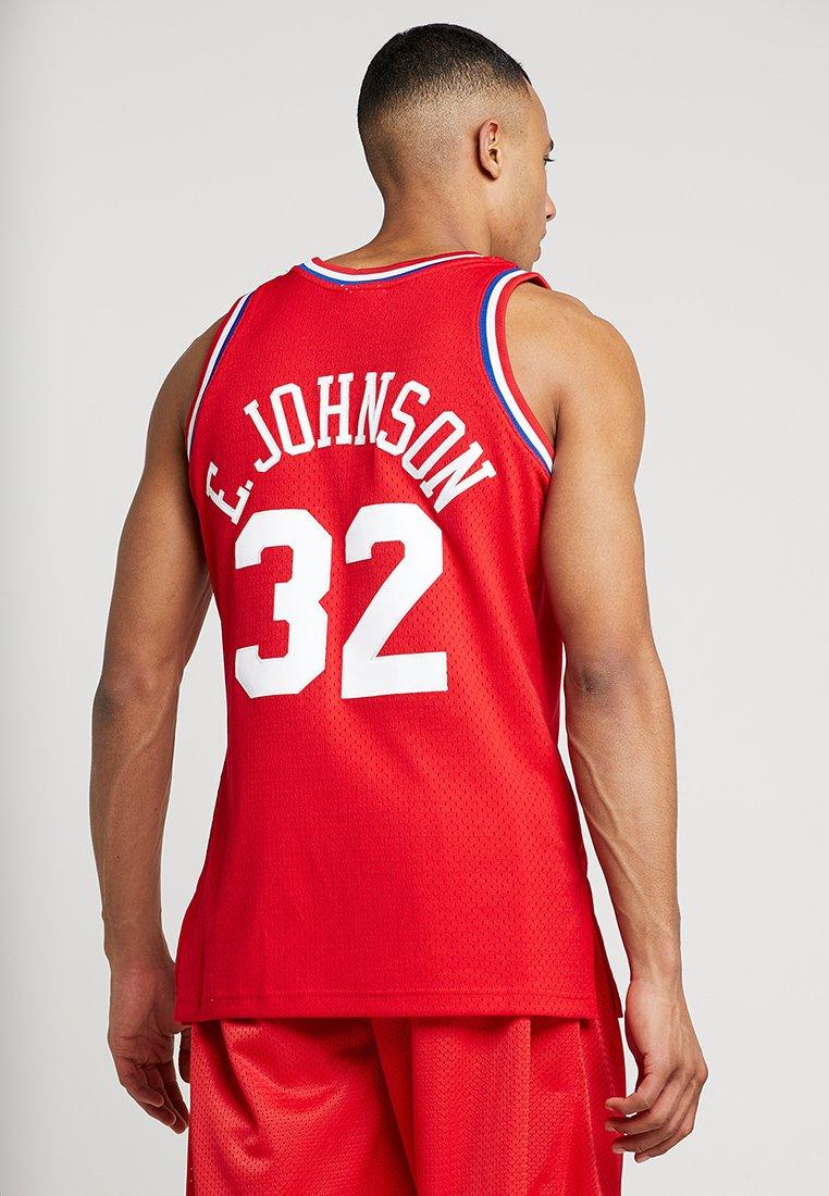 Mitchell & Ness NBA ALL STAR WEST 1991 EARVIN JOHNSON SWINGMAN - Débardeur red