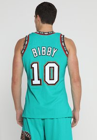 Mitchell & Ness - NBA VANCOUVER GRIZZLIES MIKE BIBBY SWINGMAN  - Funkční triko - green - 2