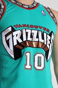 Mitchell & Ness - NBA VANCOUVER GRIZZLIES MIKE BIBBY SWINGMAN  - Funkční triko - green - 6