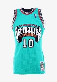 Mitchell & Ness - NBA VANCOUVER GRIZZLIES MIKE BIBBY SWINGMAN  - Funkční triko - green - 5