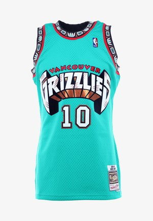 NBA VANCOUVER GRIZZLIES MIKE BIBBY SWINGMAN  - T-shirt de sport - green