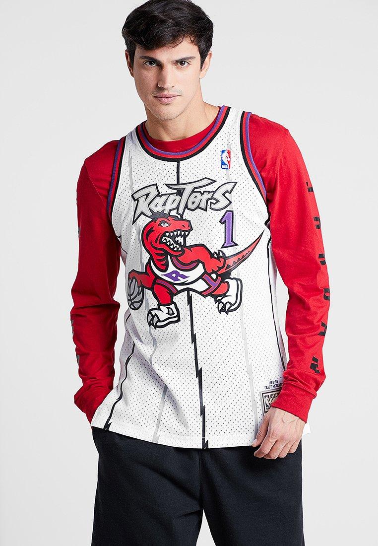 Mitchell & Ness - NBA TORONTO RAPTORS TRACY MCGRADY SWINGMAN  - Club wear - white