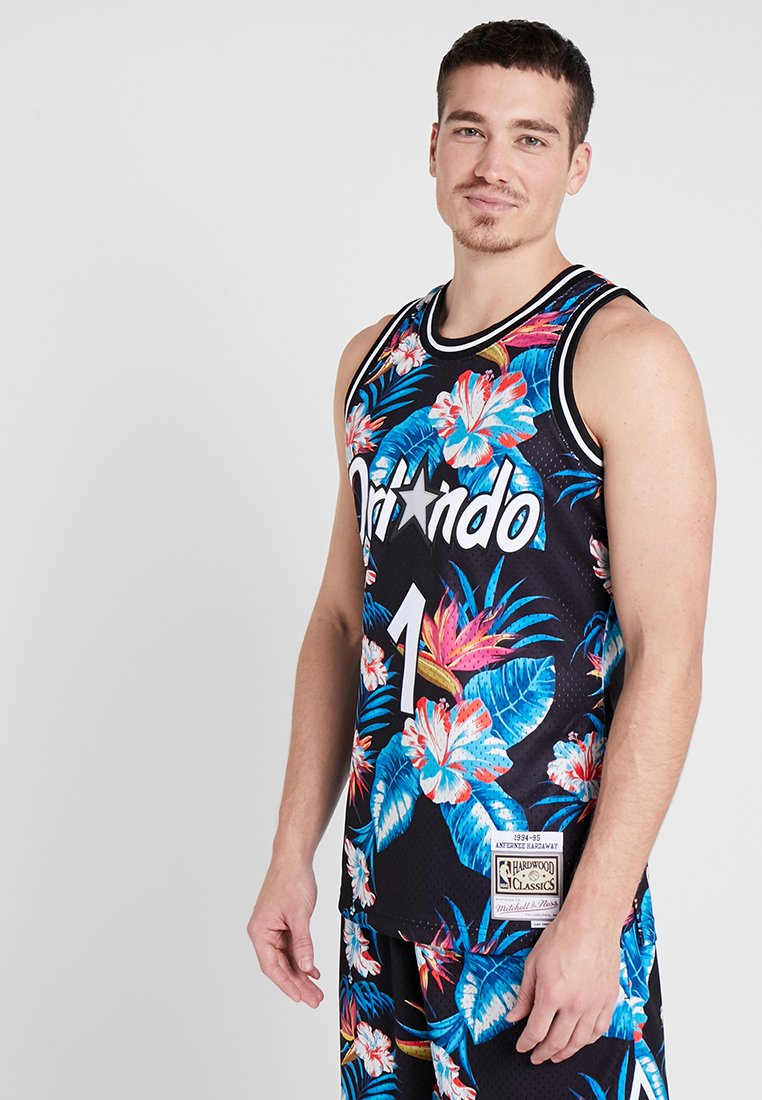Mitchell & Ness - NBA ORLANDO MAGIC FLORAL SWINGMAN  - Vereinsmannschaften - multi-coloured