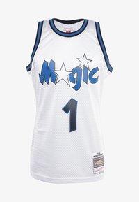 Mitchell & Ness - NBA ORLANDO MAGIC PLATINUM SWINGMAN - Squadra - silver - 4