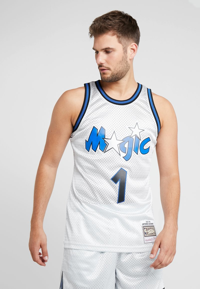 Mitchell & Ness - NBA ORLANDO MAGIC PLATINUM SWINGMAN - Squadra - silver