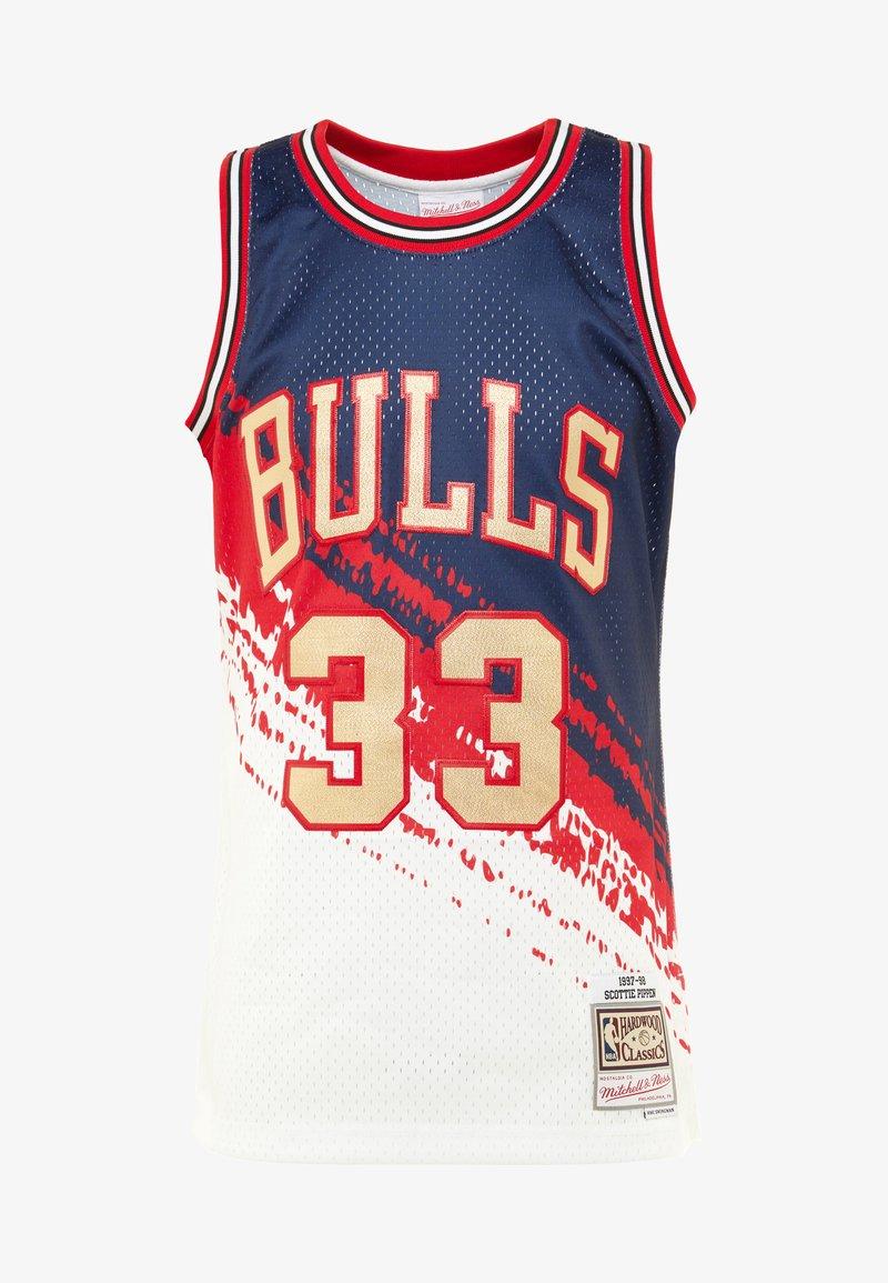 Ness Chicago Independence Bulls White SwingmanArticle Nba Mitchellamp; De Supporter KT1JlcF3