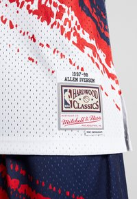 Mitchell & Ness - NBA PHILADELPHIA 76ERS INDEPENDENCE SWINGMAN - Club wear - white - 5