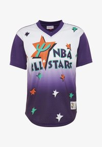 Mitchell & Ness - NBA ALL STAR GAME WINNING SHOT  - T-shirt print - purple/white - 4