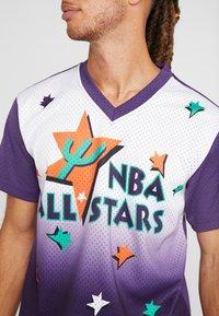 Mitchell & Ness - NBA ALL STAR GAME WINNING SHOT  - Printtipaita - purple/white - 5