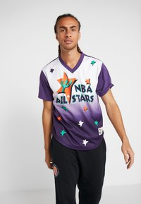 Mitchell & Ness - NBA ALL STAR GAME WINNING SHOT  - Printtipaita - purple/white - 0