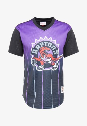 NBA TORONTO RAPTORS GAME WINNING SHOT V NECK - Printtipaita - purple/black