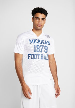 MICHIGAN PRACTISE  - Camiseta estampada - white
