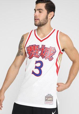 NBA ALLEN IVERSON PHILADELPHIA 76ERS CHNISES NEW YEAR SWINGMAN - Article de supporter - white