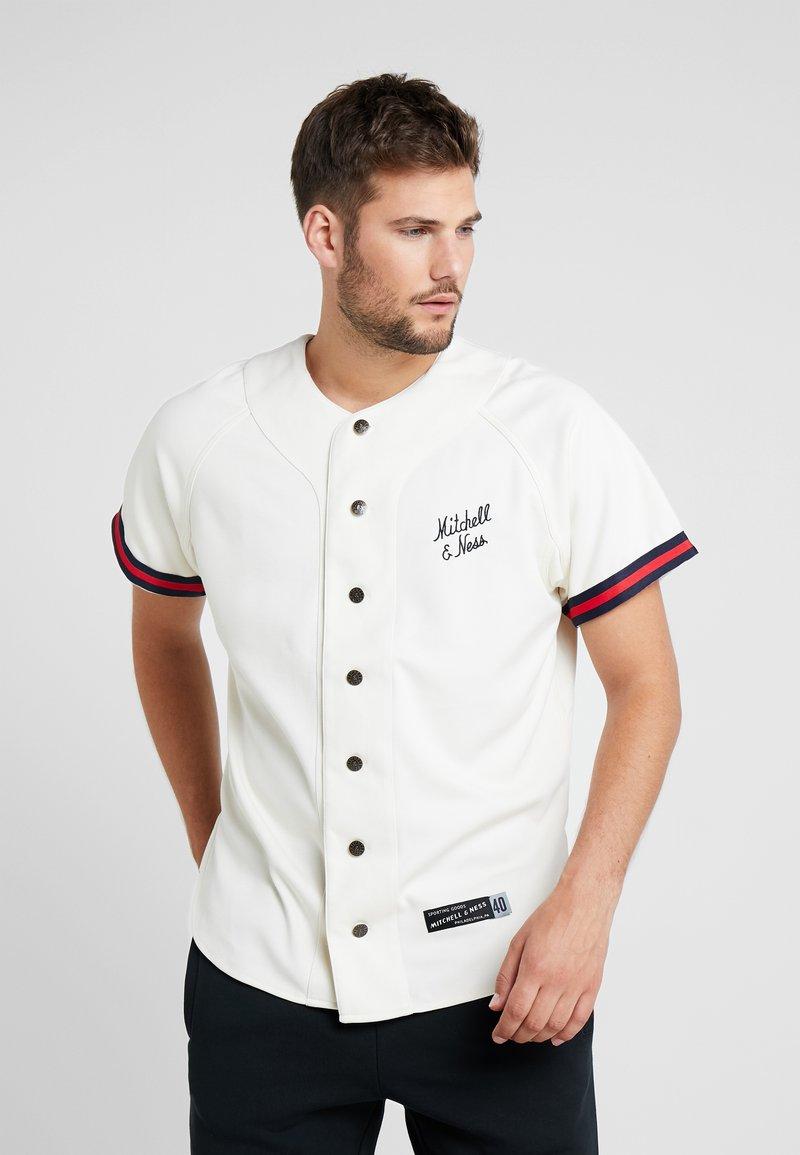 Mitchell & Ness - BASEBALL  - Print T-shirt - off white