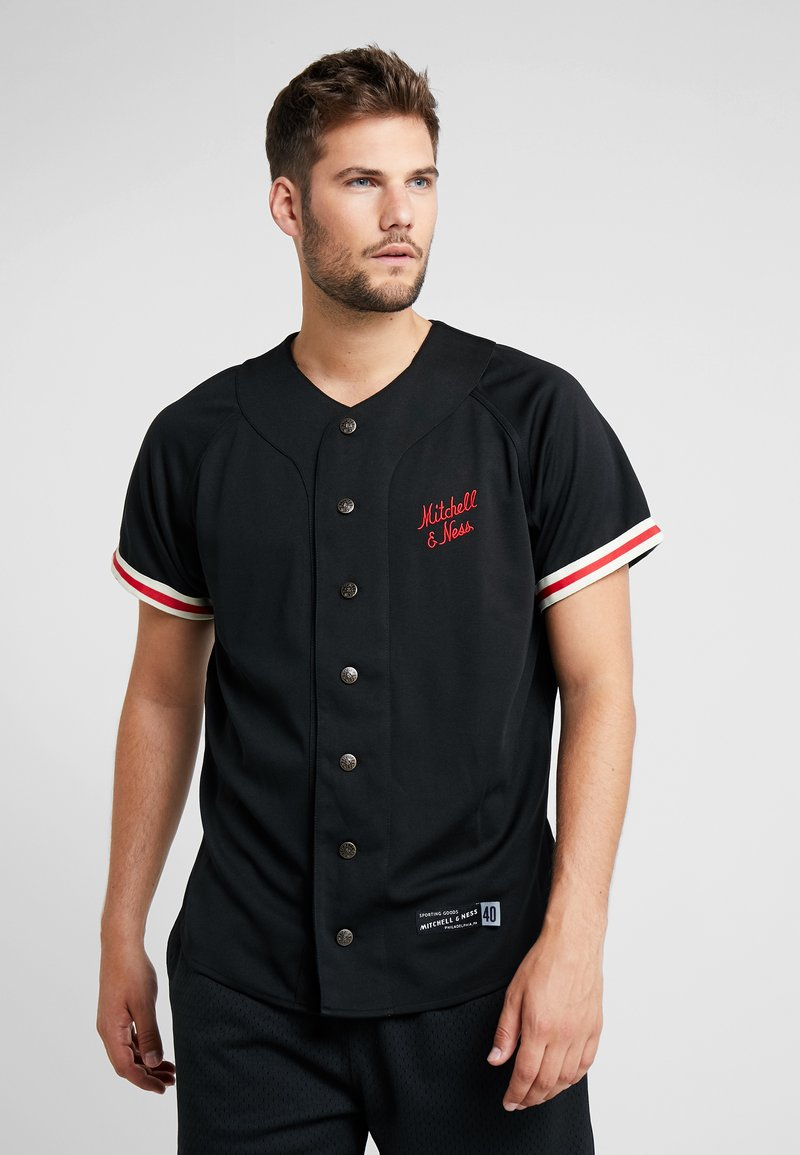 Mitchell & Ness - BASEBALL  - T-Shirt print - black