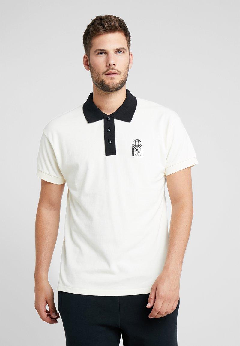 Mitchell & Ness - TENNIS  - Polo shirt - off white