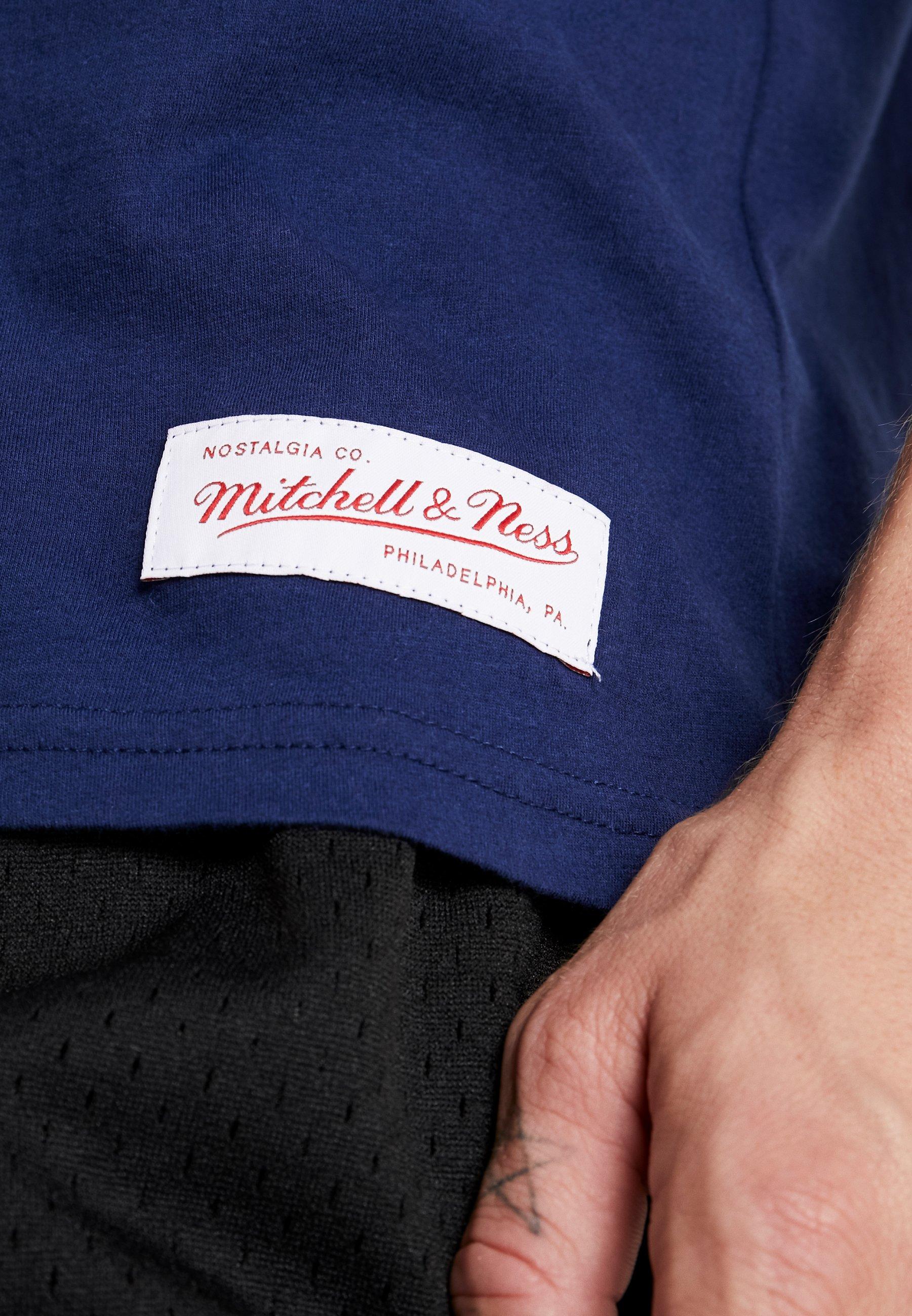 Mitchell & Ness Ncaa Michigan The Overtime Win Tee - T-shirt Print Navy rWfsQJ1L wxOpqiWo
