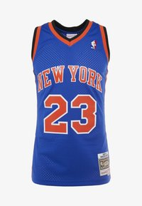 Mitchell & Ness - NBA SWINGMAN NEW YORK KNICKS MARCUS CAMBY  - Fanartikel - royal - 3