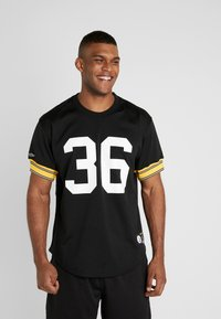 Mitchell & Ness - CREW NECK STEELERS BETTIS - T-shirt imprimé - black - 0