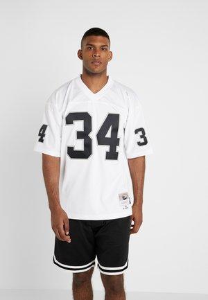 NFL LEGACY LA RAIDERS JACKSON  - T-shirt imprimé - white