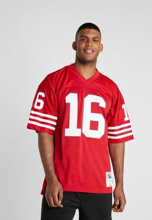NFL LEGACY MONTANA  - Print T-shirt - red
