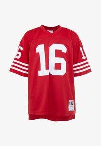 Mitchell & Ness - NFL LEGACY MONTANA  - T-shirt imprimé - red - 4