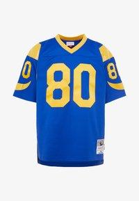 Mitchell & Ness - NFL LEGACY  ST. LOUIS RAMS I. BRUCE #80 - T-shirt imprimé - royal - 4