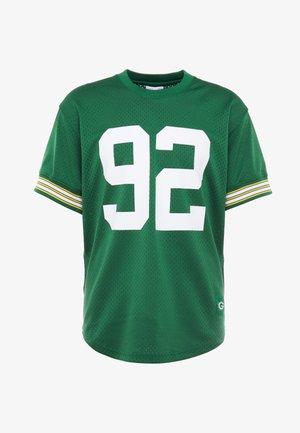 NFL CREWNECK REGGIE WHITE GREEN BAY PACKERS - Pelipaita - green