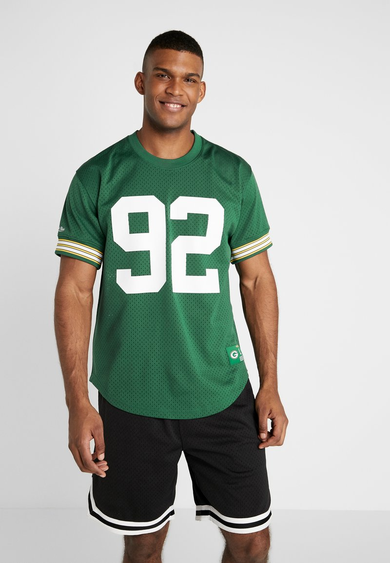 Mitchell & Ness - NFL CREWNECK REGGIE WHITE GREEN BAY PACKERS - Article de supporter - green