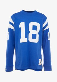 Mitchell & Ness - NFL NAME NUMBER LONG SLEEVE INDIANAPOLIS COLTS PAYTON - Longsleeve - blue - 4