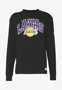 Mitchell & Ness - NBA LA LAKERS ARCH LOGO - Klubtrøjer - black - 4