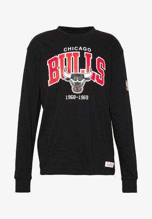 NBA CHICAGO BULLS ARCH LOGO LONG SLEEVE - Pelipaita - black