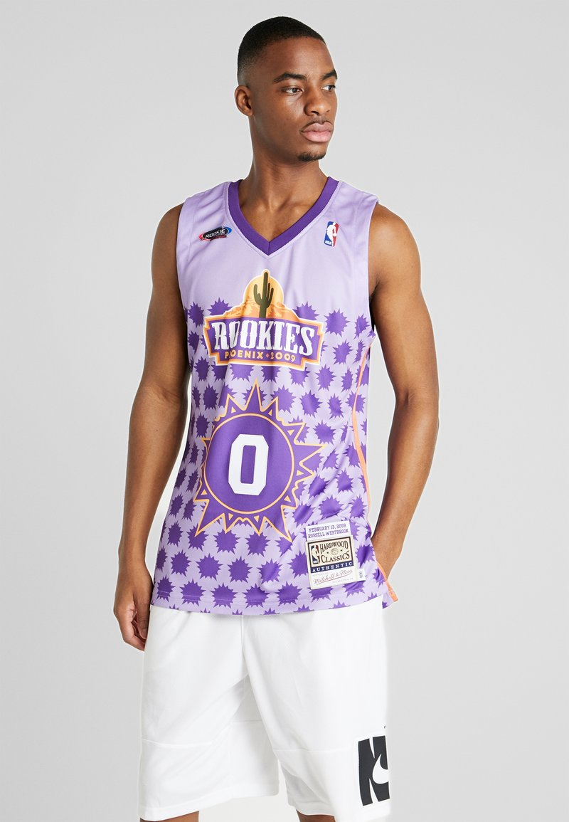 Mitchell & Ness - NBA AUTHENTIC ROOKIE GAME RUSSELL WESTBROOK 2009 #0 - Top - purple