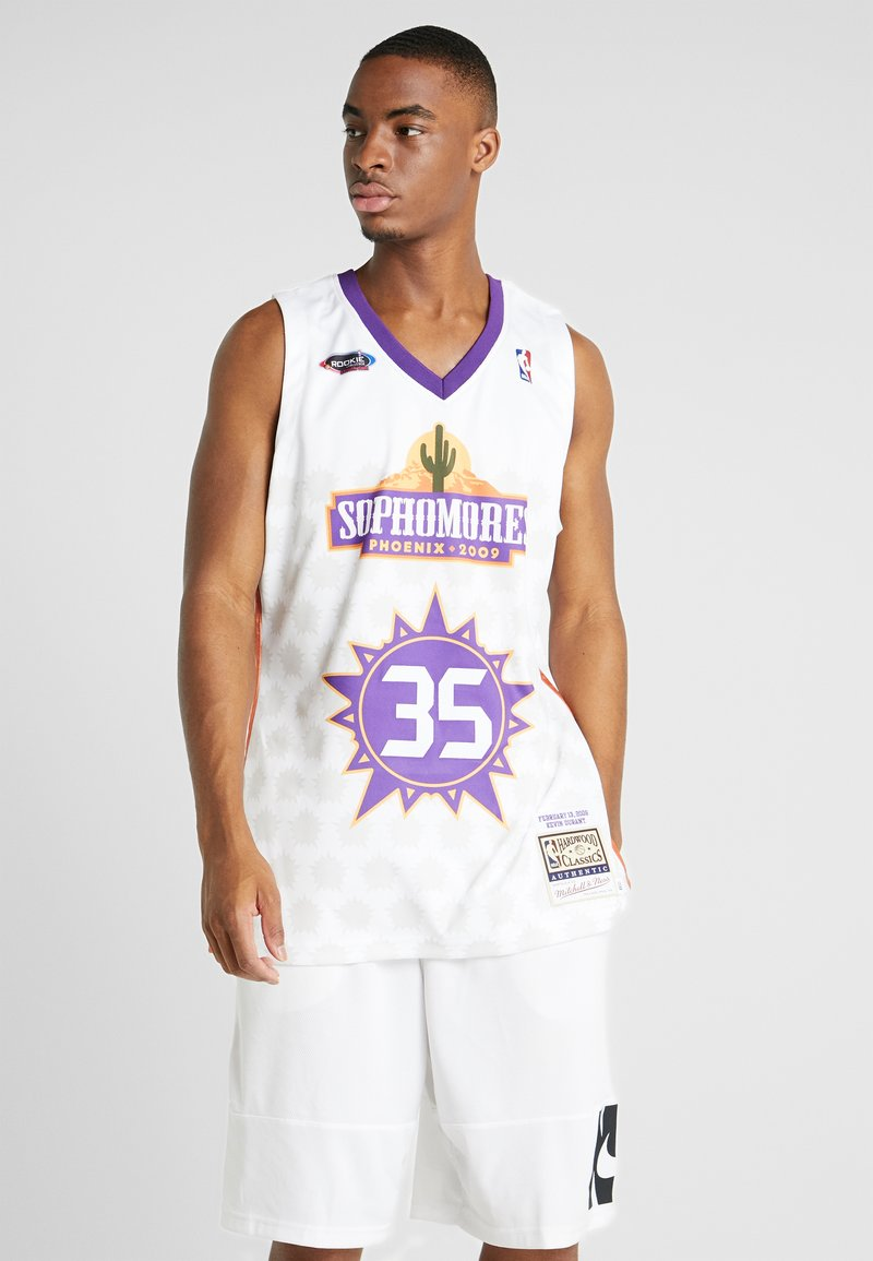 Mitchell & Ness - NBA AUTHENTIC ROOKIE GAME SOPHOMORE KEVIN DURANT 2009 #35 - Fanartikel - white