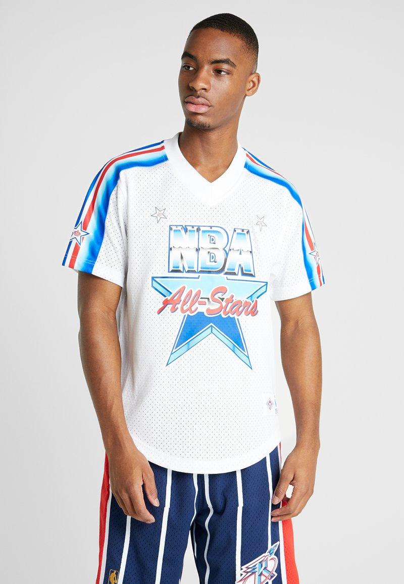 Mitchell & Ness - NBA TEAM DNA SUBLIMATION SHIRT ALL STAR 1991 - Printtipaita - white